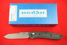 BENCHMADE 940-1 CARBON FIBER CUSTOM OSBORNE DESIGN KNIFE, CPM-S90V