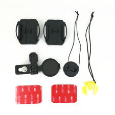 Adjustable Helmet Side Curved Adhesive Mount Kit for Sony Cam replace VCT-HSM1