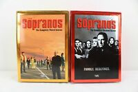 2 Seasons The Sopranos Deluxe Seasons 2 and 3 VHS Box Sets
