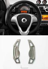 Pinalloy grau Schaltwippen Schaltpaddel Paddle Shifter Mercedes Benz Smart 451