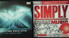 "X2004 - Christian Rock Hits (DVD + 5 Bonus Videos + CD ""SIMPLY GREAT MUSIC"")"