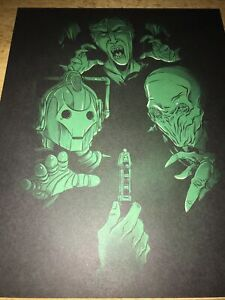 Doctor Who Print. Silence. Weeping Angels. Cybermen. NEW