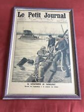 """More details for a diver entering the water a framed cover of the """"le petit journal no reserve"""