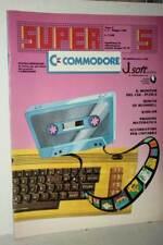 RIVISTA SUPER COMMODORE ANNO 2 NUMERO 5 MAGGIO 1985 USATA BUONO ED ITA FR1 54759