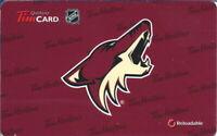 2012 Tim Horton's  Phoenix Coyotes online Tim Card FD 27326 Series 6076