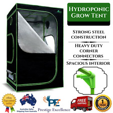 150cm Hydroponics Grow Tent w/ Ventilation Reflective Aluminum Oxford Cloth Room