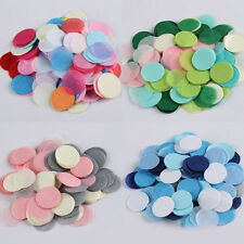 Colorful Biodegradable Tissue Paper Round Confetti Wedding DIY Party Decoration