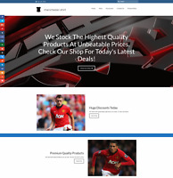 MANCHESTER UNITED Website Earn £54 A SALE|FREE Domain|FREE Hosting|FREE Traffic