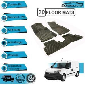 3D Floor Mats Liner Interior Protector Fit for RAM PROMASTER CITY VAN 2015-UP
