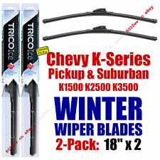 WINTER Wipers 2-Pack Premium fit 1988-2000 Chevy K1500 K2500 Suburban - 35180x2