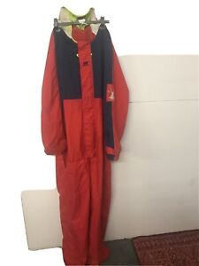 Mens Helly Hansen VINTAGE Weather Protective Full Suit Hooded/50-54 Inch Chest