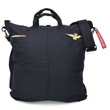 BORSA PORTACASCO VOLO PILOTA AERONAUTICA MILITARE BLU FLIGHT HELMET CARRY BAG