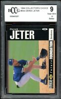 1994 Collector's Choice #644 Derek Jeter Future Foundation BGS BCCG Near Mint+