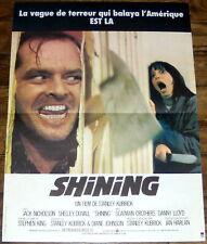 ShiNiNg Stanley Kubrick Jack Nicholson Stephen King Small french Poster