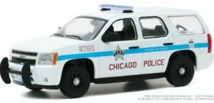 GREENLIGHT 86183 CHEVROLET TAHOE 2010 City of Chicago Police Department  1:43rd