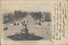 MEXICO EL PASEO DE LA REFORMA LIBRERIA RUHLAND & AHLSCHIER 24065