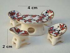 salon en porcelaine pour vitrine, collection, décoration, miniature  **S11-02