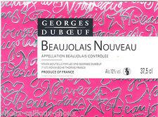 étiquette vin BEAUJOLAIS NOUVEAU peinture de VAVRO non datée 75cl   wine label