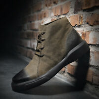 Men's Leather Boots Casual Lace Up Ankle Dress Boot Comfortable Walking Shoes