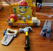 Vintage 2000 TONKA Hasbro Talking Learning Sounds Tools Plastic WORKBENCH