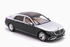 Mercedes – Maybach S-Class 2019 Obsidian Black/Iridium Silver 1:18 |  820106