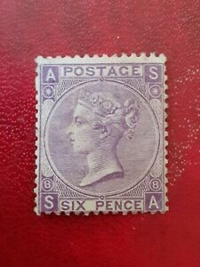 Gb Qv 6d Lilac Mint hinged Pls See Pictures