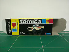 REPRODUCTION BOX for Tomica Black Box No.61 Toyota Hilux 4WD