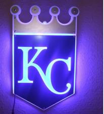 "New Kansas City Royals Led Light Neon Sign 14"" Lamp Wall Decor Display Windows"