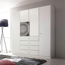 Kleiderschrank Sinsheim Schlafzimmerschrank Schrank in weiß 181 cm
