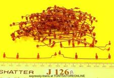 j126b BULK BONUS BUY jouef ho spares 60x roof insulator/cable assemblies brown
