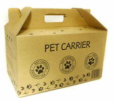 Cardboard Pet Carrier Large 460mm X 363mm X 253mm X 5