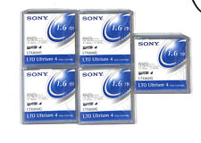 LOT 5x LTX800G  Sony LTO Ultrium 4 Data Tape Cartridge 800 1600GB 1.6TB NEW