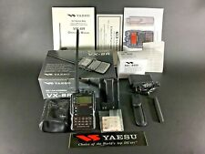 Yaesu VX-8R 50/144/430/220 MHz Transceiver w/ BU-1 Bluetooth Option Installed