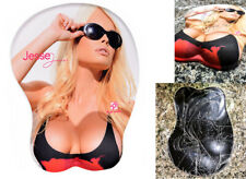 Porn Star Jesse Jane Boob Mouse Pad with Gel Wrist Support