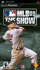 MLB 09: The Show (Sony PSP, 2009) MAJOR LEAGUE BASEBALL VIDEO GAME NEW FREE SHIP