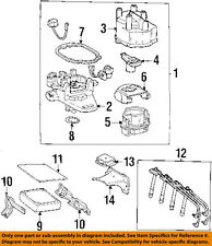 TOYOTA OEM 92-95 Celica-Distributor Cap 1910174180