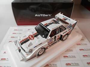 AA88700 by AUTOART AUDI QUATTRO S1 PIKES PEAK WINNER 1987 1/18