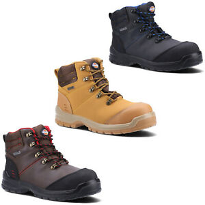 Dickies Mens Cameron Safety Boots Waterproof Composite Toe Cap Padded Work Shoes