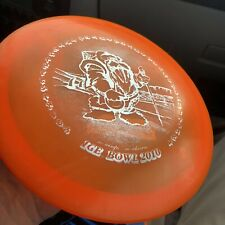 2010 Patent Numbers Orange Champion Teebird 172 g Innova Disc Golf Oop 7.5/10