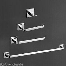 TOP Sale Bathroom Hardware Set Bath Accessories Towel Bar Ring Paper Holder 2016