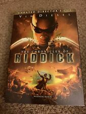 The Chronicles of Riddick (Widescreen Unrated Director's Cut) - Dvd - Very Good
