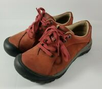 Keen Presidio Burnt Henna Hiking Shoes Womens Size 6 EU 36 1009876 Lace Up