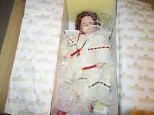 Ashton Drake Galleries The Littlest Angel Porcelain Musical Doll With Box 1994