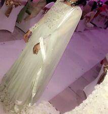 Asian Pakistani Indian Mint Wedding Lengha Choli Dress