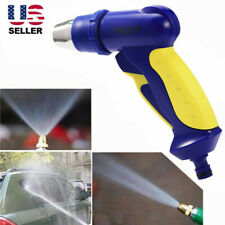 High Pressure Power Gun Water Spray Garden Hose Nozzle Car Clean Washer Tool US