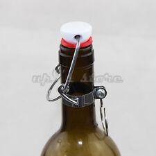 12pcs Ez Cap O type Top Stopper Root Homebrew Beer Bottle Replacement Swing Cap
