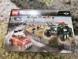 Lego 75894 - Speed Champions 1987 Mini Cooper S Rally Car & 2018 Buggy - New