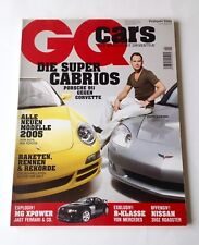 GQ Cars Magazine / German Edition - Frühjahr 2005