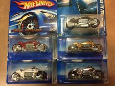 Hot Wheels Dodge Tomahawk Motorcycles Color Variations Lot of 5