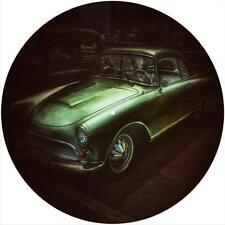 "Slipmat Slip Mat Pad for any 12"" Turntable LP DJ Record Player CLASSIC GREEN CAR"